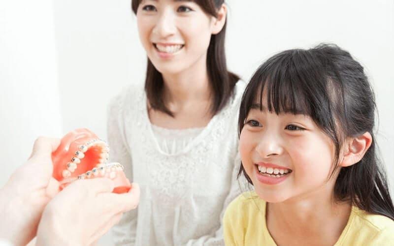 小児の矯正治療