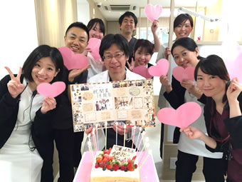 院長先生の誕生日