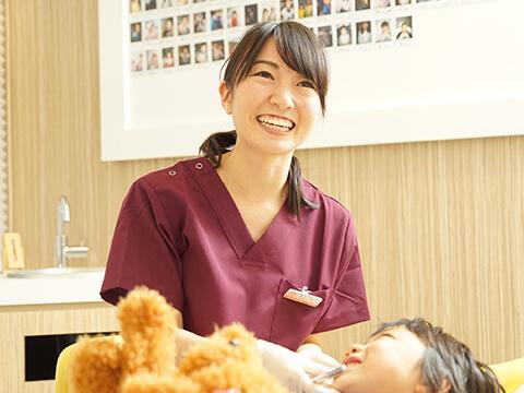 安心して通える歯科医院