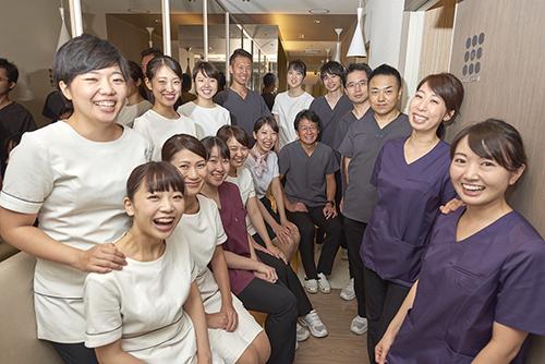 名古屋で一番働きやすい歯科医院を目指す